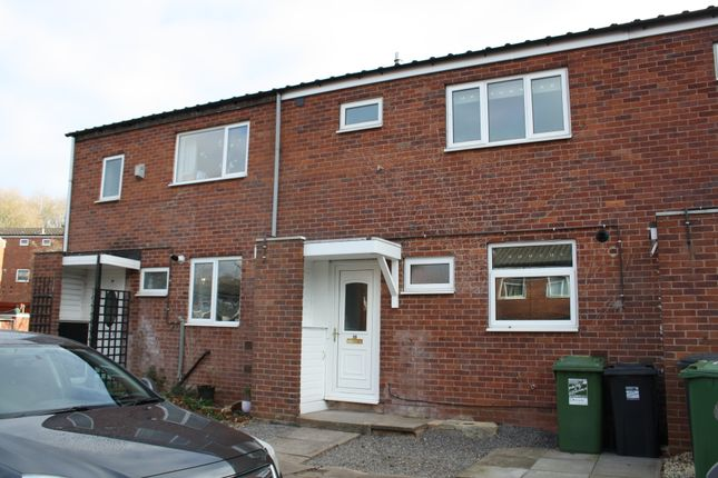 Thumbnail Terraced house to rent in Hampton Close, Redditch