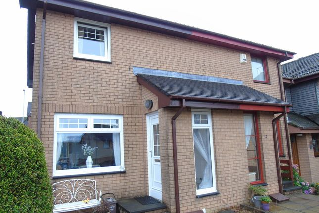 Thumbnail End terrace house for sale in Gimmerscroft Crescent, Moffat Mills, Airdrie