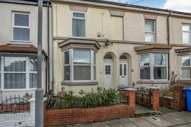 Front of Florence Street, Liverpool, Merseyside L4