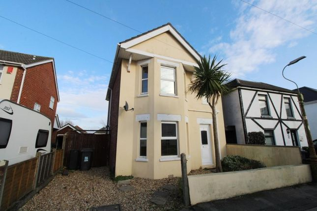 Thumbnail Detached house to rent in Parley Road, Moordown, Bournemouth