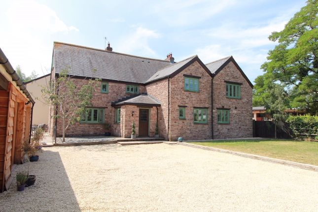 Thumbnail Detached house for sale in Gwernesney, Usk