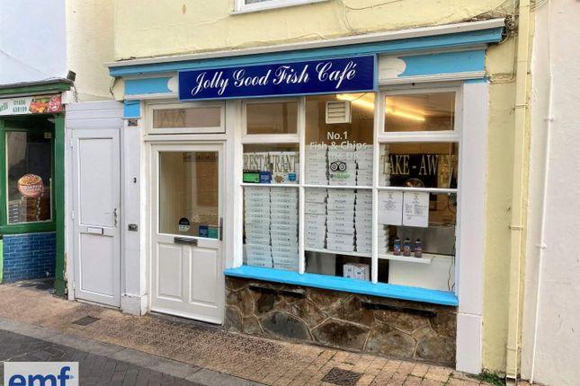 Thumbnail Restaurant/cafe to let in Teignmouth, Devon