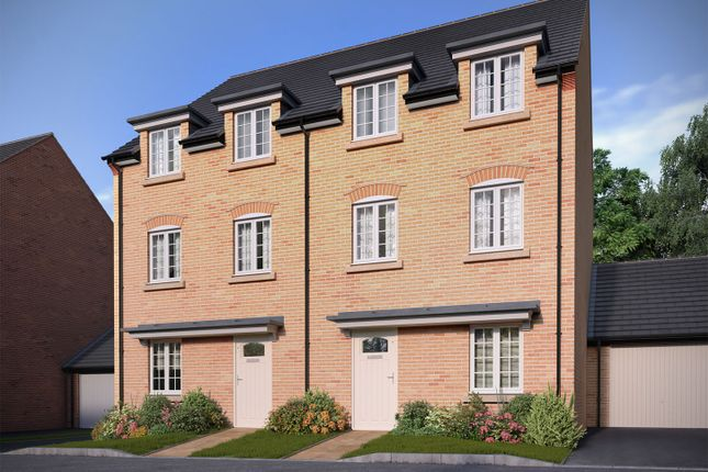 """Thumbnail Semi-detached house for sale in """"The Barrington"""" at Bedford Road, Great Barford, Bedford"""
