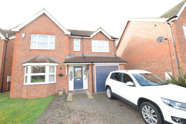 Thumbnail Detached house for sale in Oak Drive, Messingham, Scunthorpe