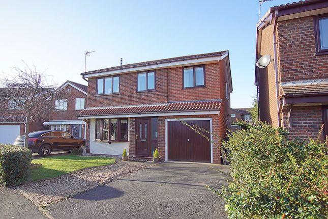 Thumbnail Detached house for sale in Vincent Close, Warrington