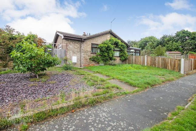 Thumbnail Detached bungalow for sale in Waveney Drive, Belton, Great Yarmouth