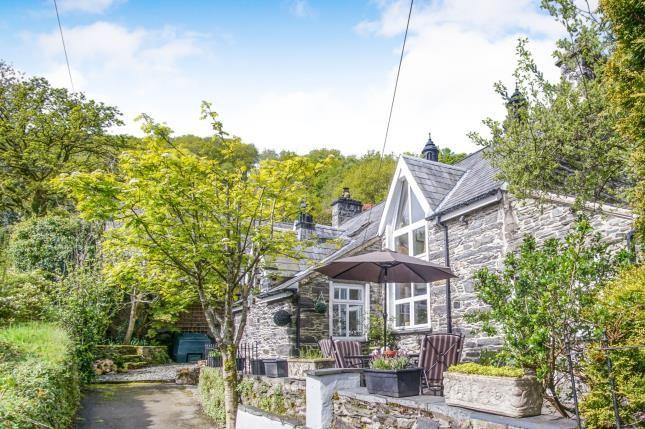 Thumbnail Detached house for sale in Prenteg, Porthmadog, Gwynedd, .
