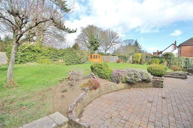 Garden of Fox Lea, Findon Village, Worthing, West Sussex BN14