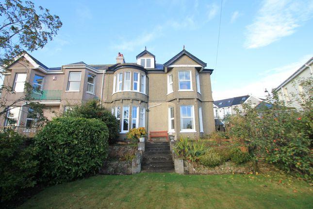 Thumbnail Semi-detached house for sale in Essa Road, Saltash, Cornwall