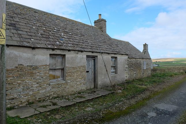 Thumbnail Cottage for sale in Lybster Road, Forss, Thurso