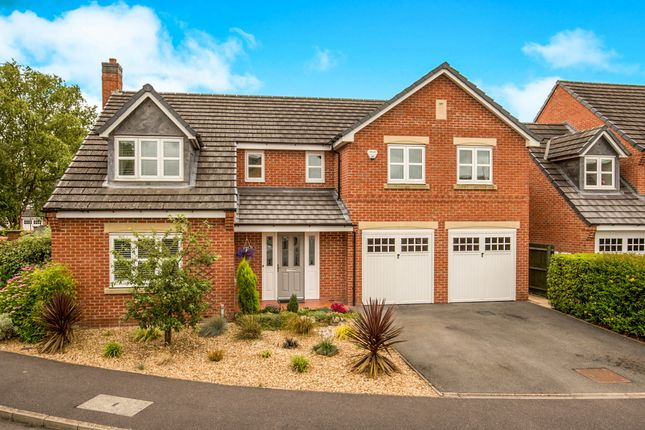 Thumbnail Detached house for sale in Wright Crescent, Ashbourne