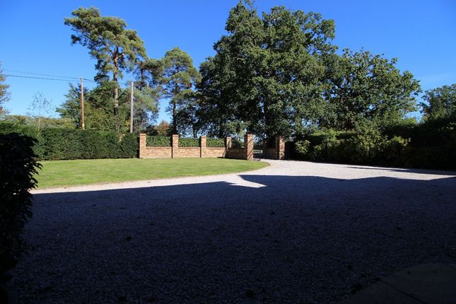 A View From The Porch, Showing The Automatic Gated Entrance And Secluded Frontage
