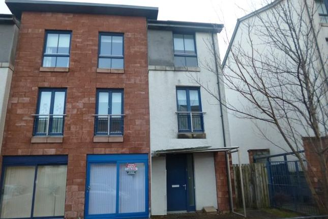 Thumbnail Town house to rent in Dolphington Avenue, Oatlands, Glasgow