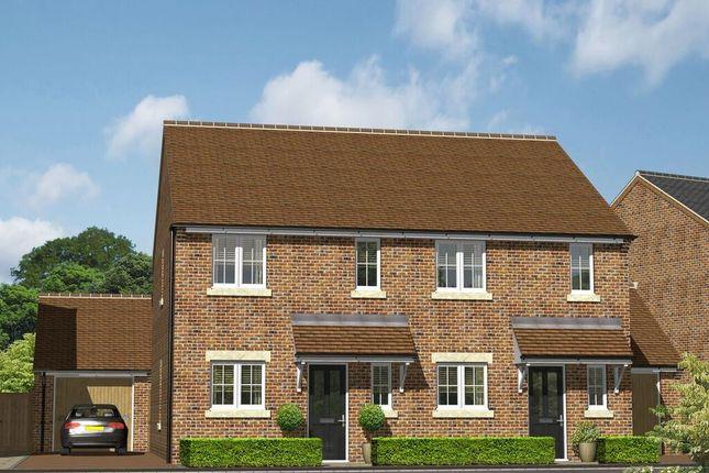 Thumbnail Semi-detached house for sale in Little Bowden Rise, Little Bowden Rise, Market Harborough