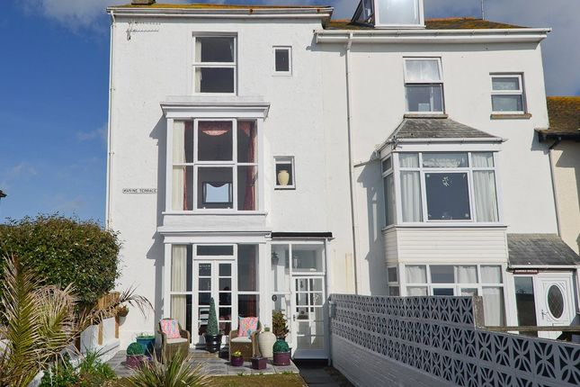 Front View of Marine Terrace, Penzance TR18