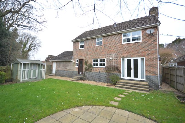 Thumbnail Detached house for sale in West Way, Broadstone