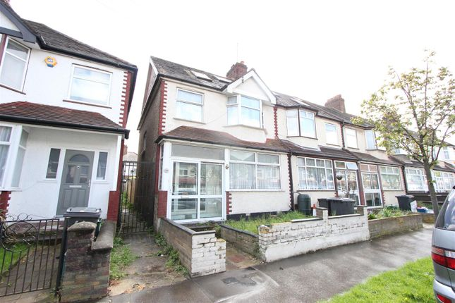 Thumbnail End terrace house for sale in Chartham Road, South Norwood, London