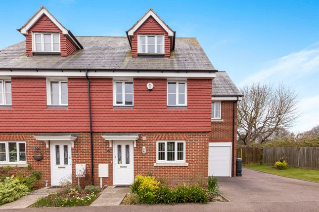 Thumbnail Terraced house for sale in Nazareth Close, Bexhill-On-Sea