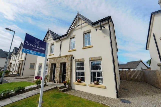 Thumbnail Semi-detached house for sale in River Hill Crescent, Newtownards