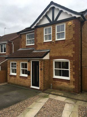 Thumbnail Detached house to rent in Sandringham Drive, Heanor, Derbyshire