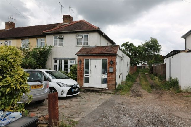 Thumbnail End terrace house for sale in Endeavour Road, Cheshunt