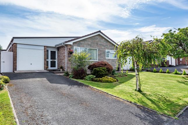 Thumbnail Detached bungalow for sale in Holcombe Drive, Llandrindod Wells