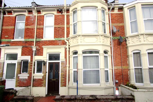 Thumbnail Terraced house to rent in Liss Road, Southsea, Hampshire