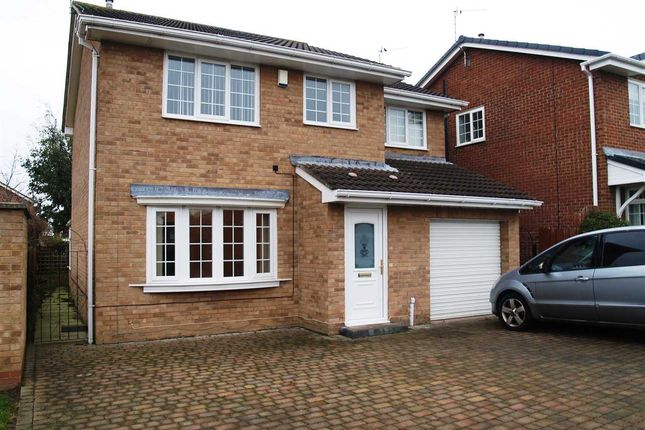 Thumbnail Detached house to rent in Simpson Court, Ashington