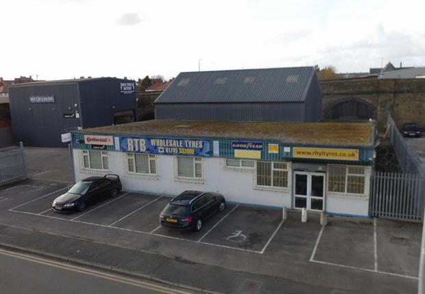 Thumbnail Light industrial for sale in 117 Marsh Road, Rhyl, Denbighshire