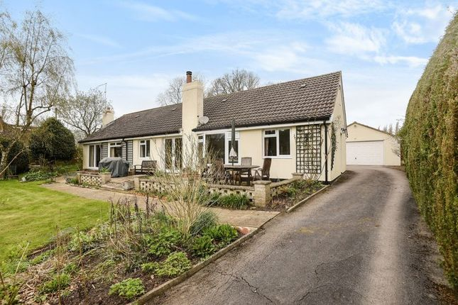 Thumbnail Detached bungalow for sale in Byes Lane, Silchester, Reading