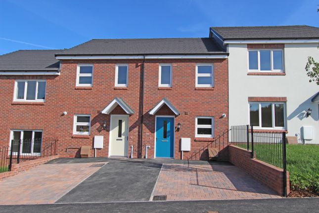 2 bed terraced house for sale in Plot 9, Bowling Green View, Cullompton, Devon
