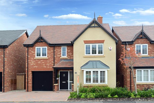 Thumbnail Detached house for sale in Blacksmiths View, Hadnall, Shrewsbury