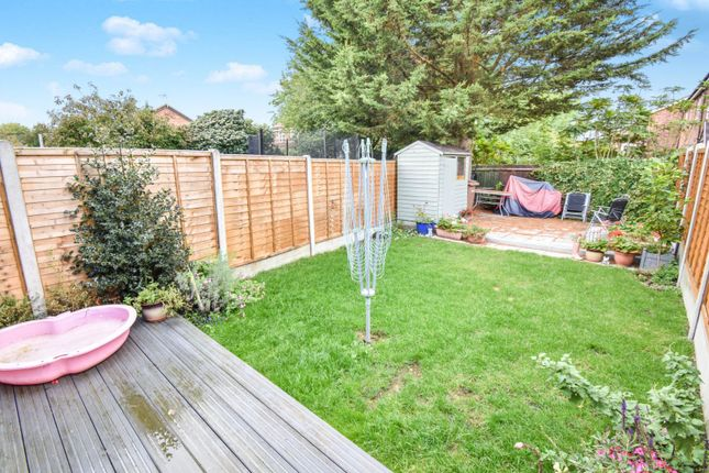 Rear Garden of Madeline Place, Chelmsford CM1