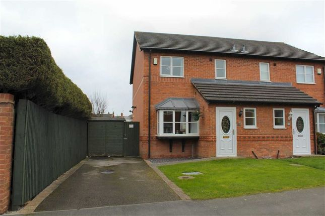 Thumbnail Semi-detached house for sale in Potters Way, Buckley, Flintshire