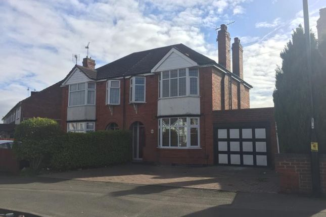 Thumbnail Semi-detached house to rent in Courtland Ave, Coundon, Coventry