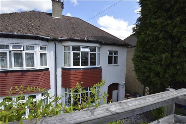 Thumbnail Semi-detached house for sale in Oaks Road, Kenley, Surrey