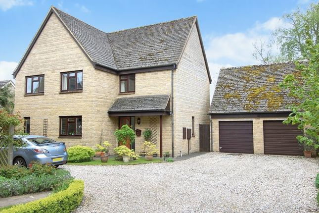 Thumbnail Detached house for sale in Orchard Close, Cassington, Witney