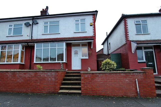 Thumbnail Semi-detached house for sale in Grosvenor Avenue, Whitefield, Manchester