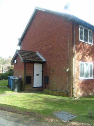 1 bed terraced house to rent in Haig Lane, Church Crookham, Fleet GU52