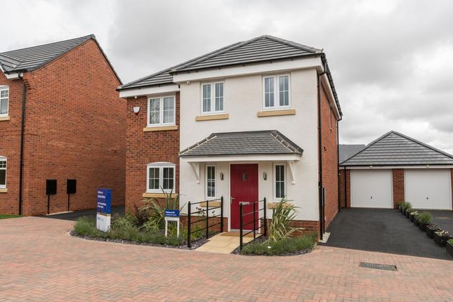 "Thumbnail Detached house for sale in ""Pebworth"" at Lowbrook Lane, Tidbury Green, Solihull"