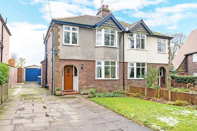 Thumbnail Semi-detached house for sale in Hobb Lane, Daresbury, Warrington