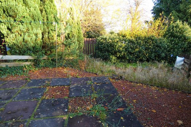Rear Garden of Gillbrae, Dumfries DG1