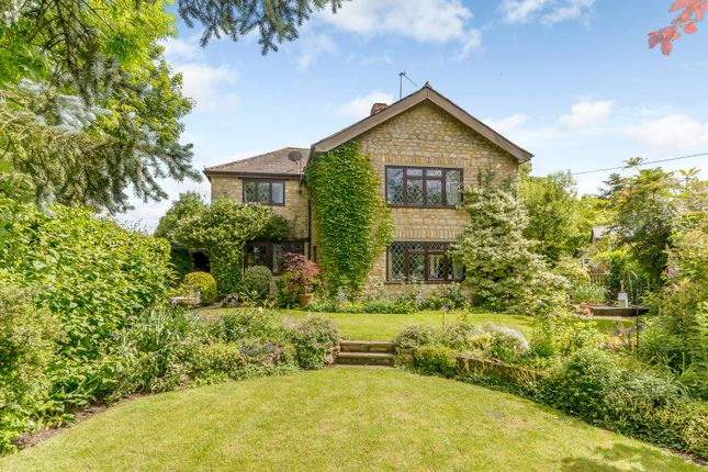 Thumbnail End terrace house for sale in The Green, Turweston, Brackley, Northamptonshire