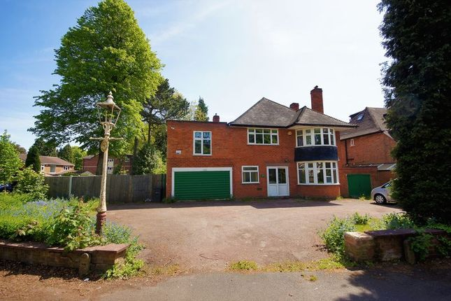 Thumbnail Detached house for sale in Yardley Wood Road, Moseley, Birmingham