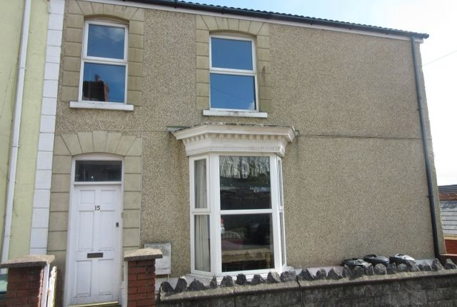 Thumbnail End terrace house to rent in Victoria Street, Uplands, Swansea.
