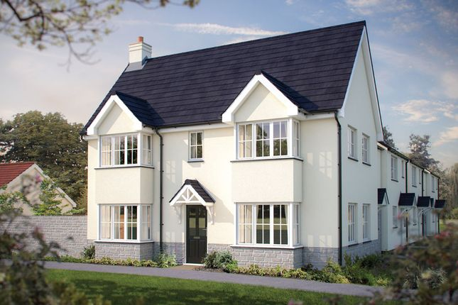 "Thumbnail End terrace house for sale in ""The Sheringham"" at Humphry Davy Lane, Hayle"