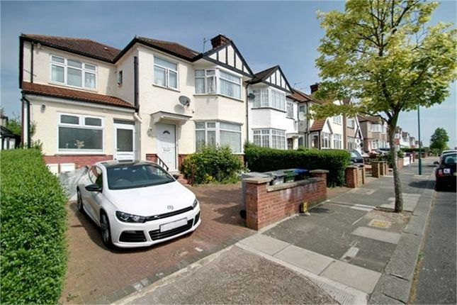 Thumbnail Semi-detached house for sale in Gladstone Park Gardens, London