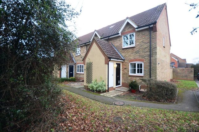 Thumbnail End terrace house to rent in Macphail Close, Wokingham
