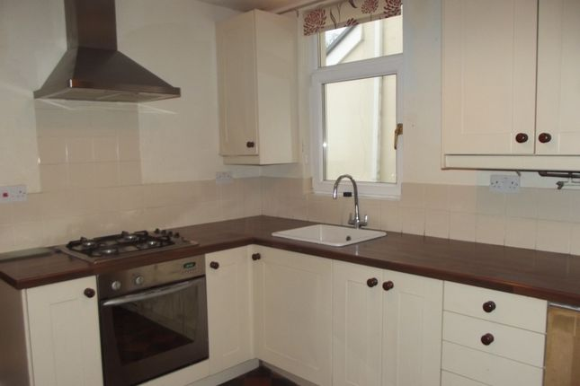 Thumbnail Terraced house to rent in Sunnyside Road.., Bridgend