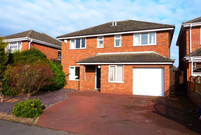 Thumbnail Detached house to rent in Tidbury Close, Woburn Sands